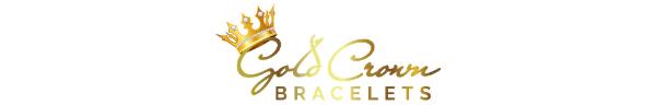 Gold Crown Bracelet